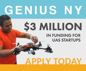 Genius NY $3 Million Funding for Commercial Drones FM