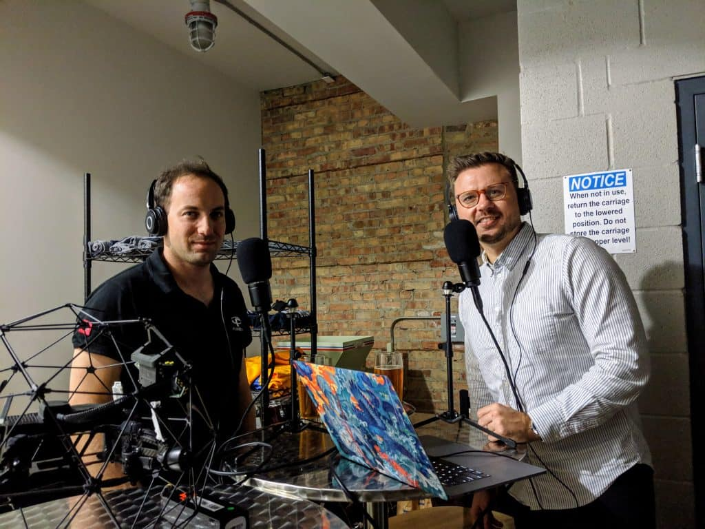 Drone podcast with Patrick Thevoz CEO of Flyability - Indoor Inspection Drones