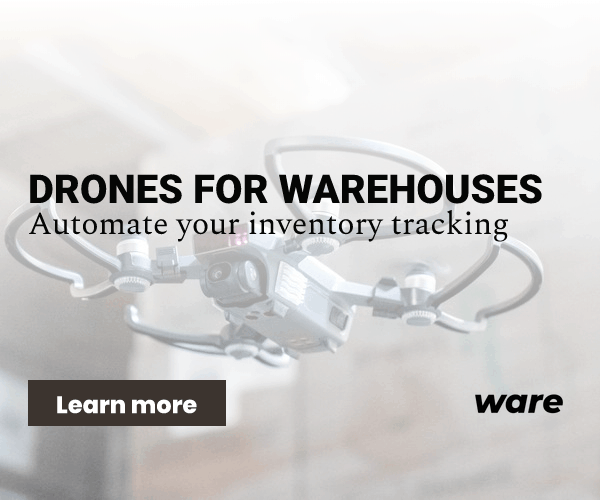 Ware - Drones for warehouses
